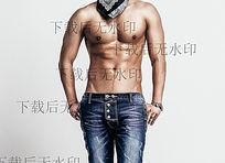 亚洲性感的肌肉男