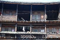 福建土楼木结构细节