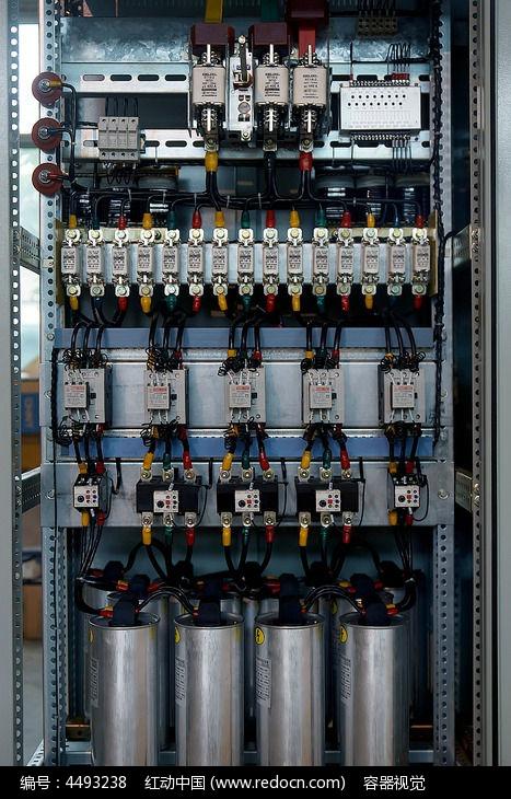 配电箱内部电路接线规范标准示范高清拍摄图片