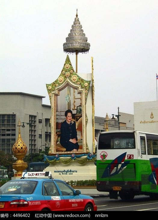 泰国曼谷街景图片