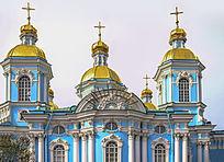 俄罗斯皇村普希金城叶卡捷琳娜宫