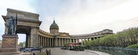 俄罗斯圣彼得堡莫斯科金环小镇风光