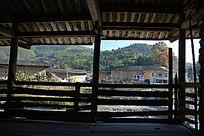 福建土楼二层景观