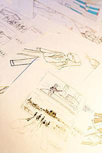角色设计原创绘制手稿