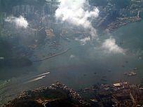空中欣赏香港美景