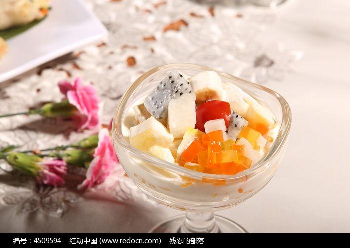 锦绣水果捞生果甜品拼盘&n