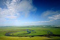 额尔古纳河草原风光
