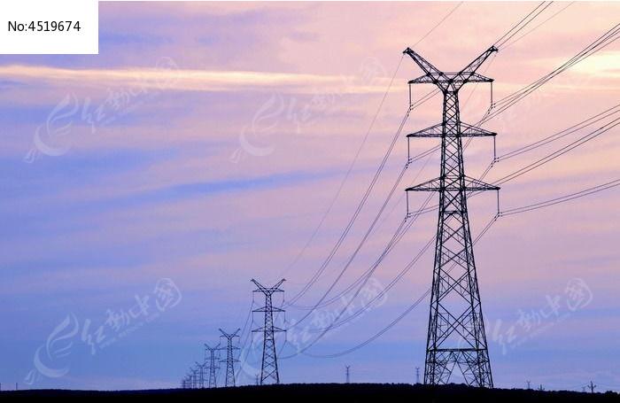 电�_高压电塔图片