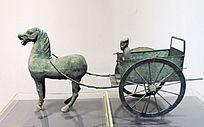 汉代铜马车