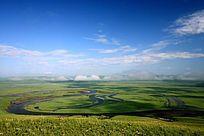 呼伦贝尔草原河景