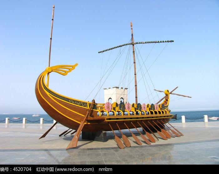 帆船雕塑图片,高清大图_雕刻艺术素材