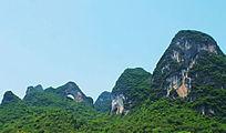 桂林月亮山图片