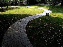 花园小径横构图