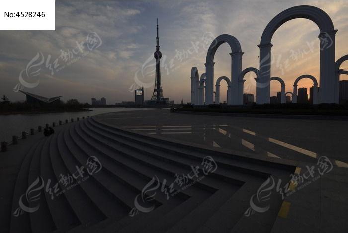焦作龙源湖公园图片