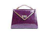 时尚紫色女士挎包