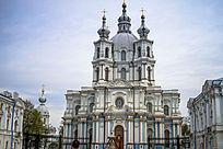 斯莫尔修道院斯莫尔尼教堂