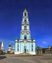 谢尔盖圣三一大教堂钟塔