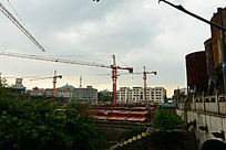 城市建设工地图片