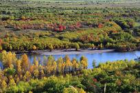 额尔古纳河湿地风光