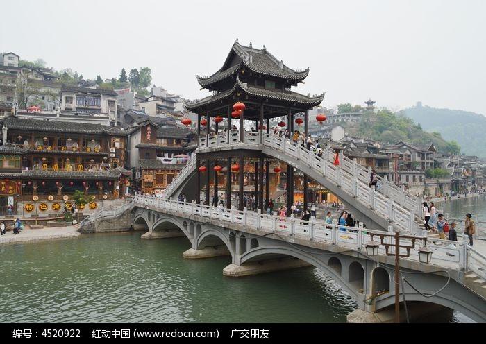 凤凰古城景区景点特写图片图片