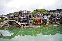 湖南 凤凰古城景区景点特写图