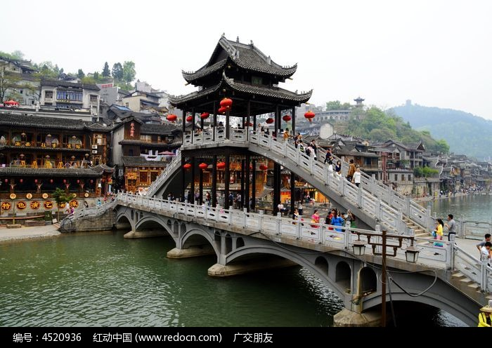 湖南 凤凰古城景区景点特写图片图片