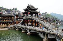湖南 凤凰古城景区景点特写图片