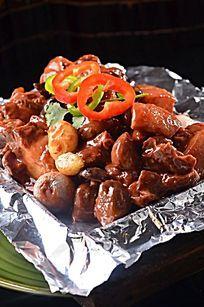 铁板香猪肉