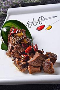 椒香牛肉块