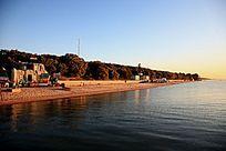 清晨时光的兴凯湖