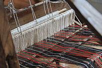传统织布机