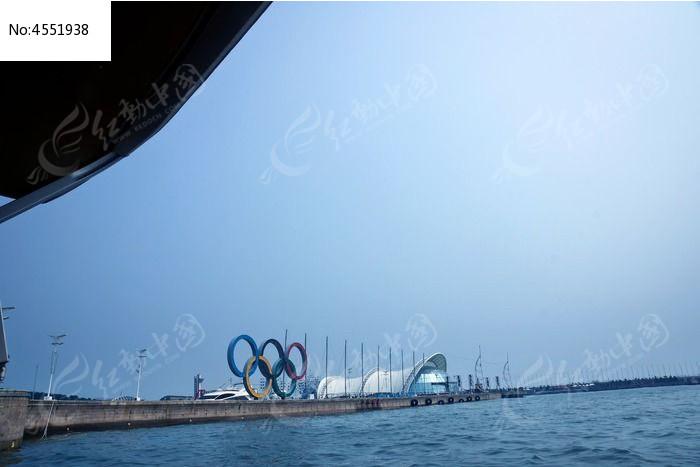 青岛奥帆中心码头海岸建筑