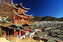香格里拉龟山大佛寺