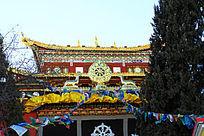 香格里拉龟山大佛寺建筑