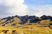宁夏中卫山地风景