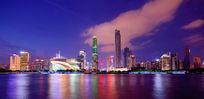 广州城市夜景