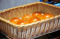 装着竹框的韩式面包