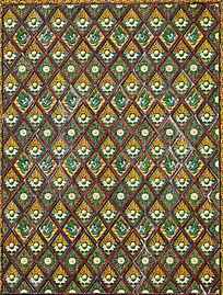 南山寺佛教元素建筑装饰图案
