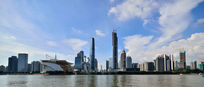 珠江新城全景图