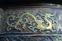 青铜器上的浮雕图案