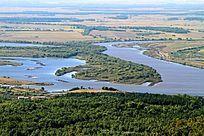 抚远县湿地河流