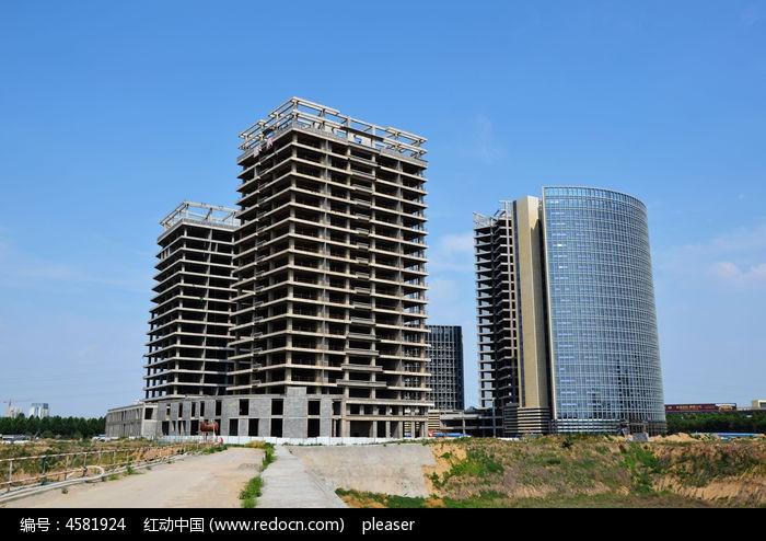 寿光企业总部在建大楼