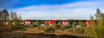 俄罗斯村庄美景