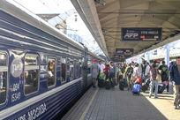俄罗斯火车站