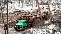 大兴安岭运材(运输木材)汽车