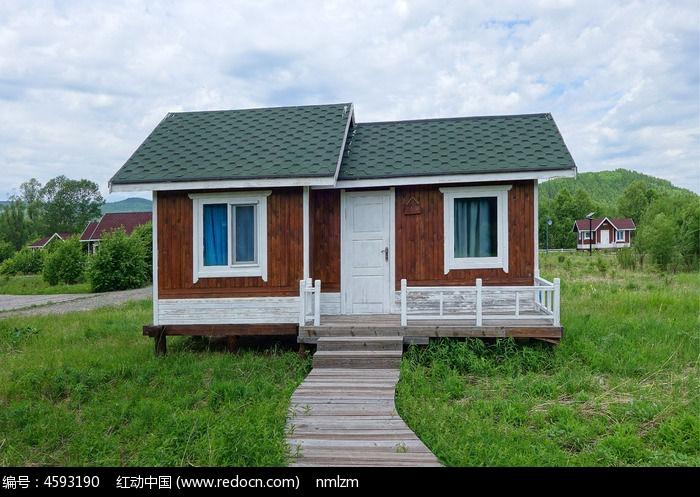 景区木屋别墅
