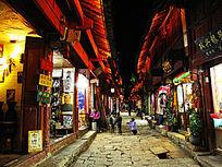丽江古城之夜