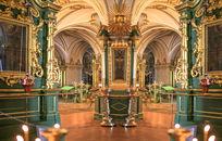 尼古拉教堂内景