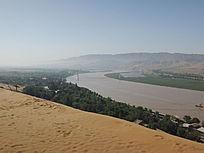 宁夏沙坡头黄河