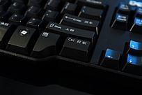 高清拍摄电脑键盘局部大图